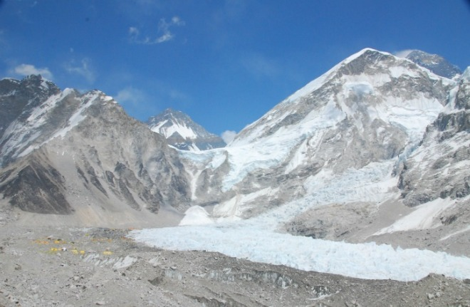'extension' of Khumbu Icefall